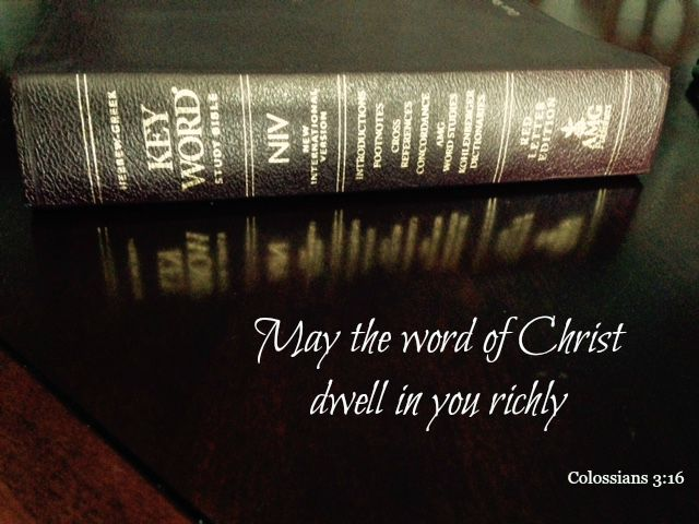 may the word dwell